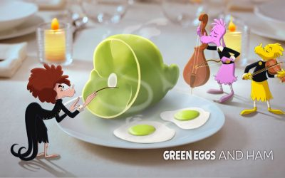 Sam's Table: Ad for Green Eggs and Ham