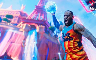 Lebron James is part of Toon Squad on Space Jam: A New Legacy